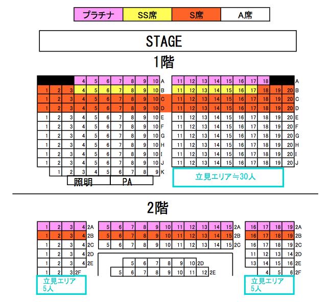 座席マップ